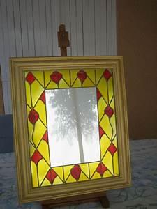 Peinture Argentée Spéciale Miroir : miroir d co peinture vitrail album photos peinture ~ Dailycaller-alerts.com Idées de Décoration