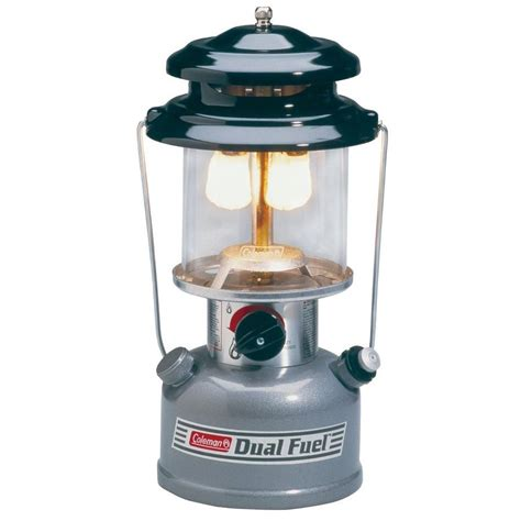 coleman premium dual fuel lantern w carrying