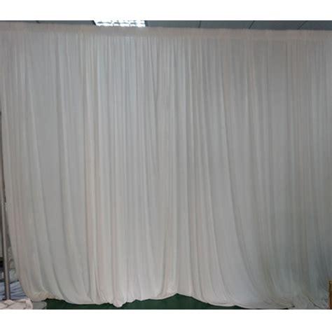 wholesale 3 m x 3 m white pleated silk wedding