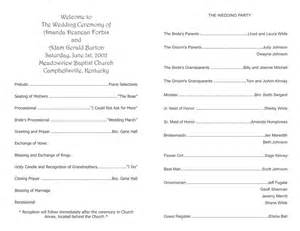wedding program templates wedding program templates wedding programs fast