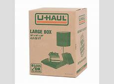 UHaul Large Moving Box