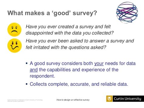 what makes a architect how to design an effective survey the good the bad and the ugly
