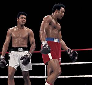 The Rumble In The Jungle. Muhammad Ali vs. George Foreman ...