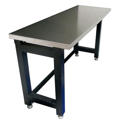 heavy duty stainless steel top workbench   pro