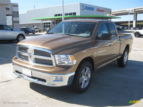 dark brown jeep 2012 saddle brown pearl dodge ram 1500 lone star quad cab