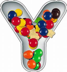 presentation alphabets candy dish letter y With alphabet letter candy dishes
