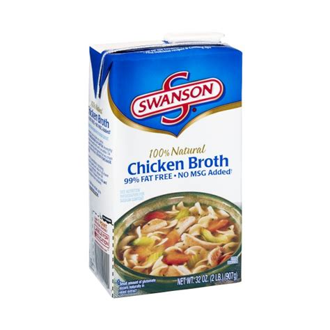 chicken stock substitute swanson broth chicken 99 fat free
