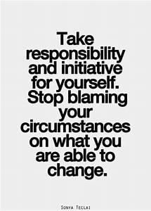 Responsibility Quotes - Quotation Inspiration