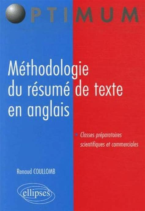 rsum de texte mthodologie l anglais pour l ing 233 nieur guide pratique de la communication scientifique et technique