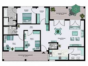 Atrium Bungalow Grundrisse : bungalow xxl floor plans 0 h user pinterest grundrisse grundriss bungalow und hausbau ~ Bigdaddyawards.com Haus und Dekorationen