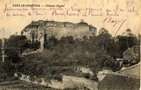bureaux de tabac cartes postales anciennes d 39 auxi le château 62390