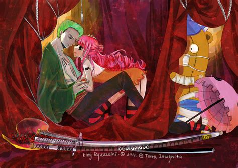 perona zoro piece roronoa yang awesome girlfriend zorro siapakah robin couples mihawk folie manga