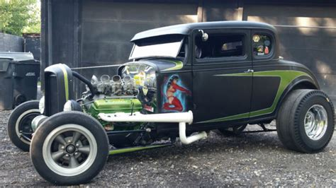 1931 Chevrolet 5 Window Coupe Rat Rod Old School Highboy