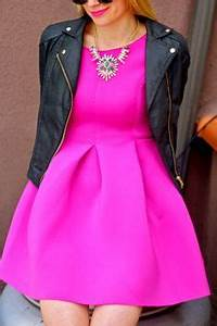 1000 ideas about Neon Pink Dresses on Pinterest