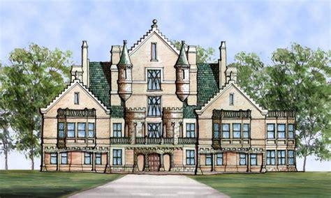 Castle House Plans Designs Small Castle Style Homes