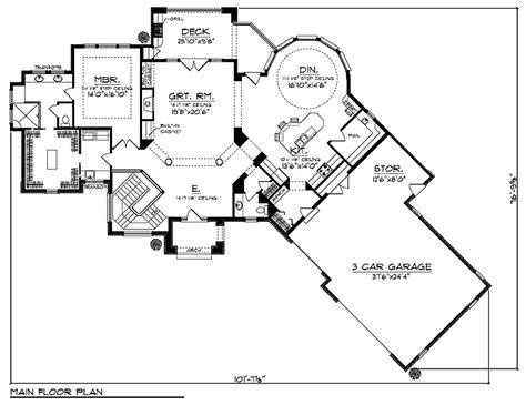 Tuscan Plan28408ll Floor Plan  Tuscany Homes