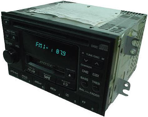 Nissan Maxima Factory Bose Tape Player