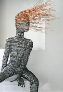 The Art Of Up-cycling  Wire Art - Barbed Wire Art