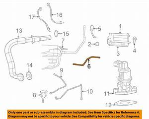 Jeep Chrysler 2012 Liberty 3 7l V6 Emission Canister Hose