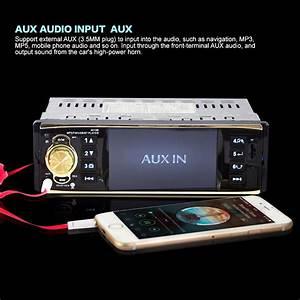 4 1 Inch Bluetooth Aux Input Stereo Radio Fm Hd Mp5 Car