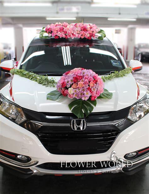 fresh flowers bridal designs fresh flowers  bridal car