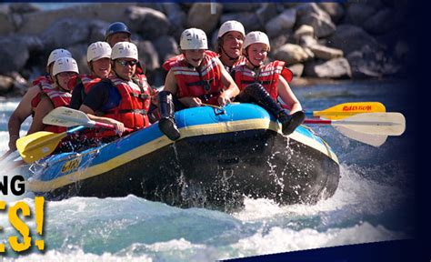 Kananaskis Whitewater Rafting Adventures for All Ages