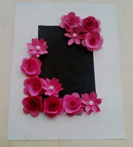 CRAFT WORLD: Punched Flowers Frame