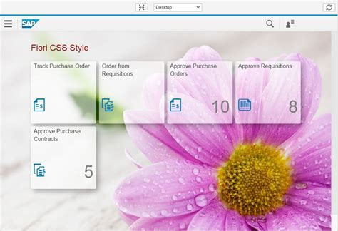 css  fiori launchpad sap blogs
