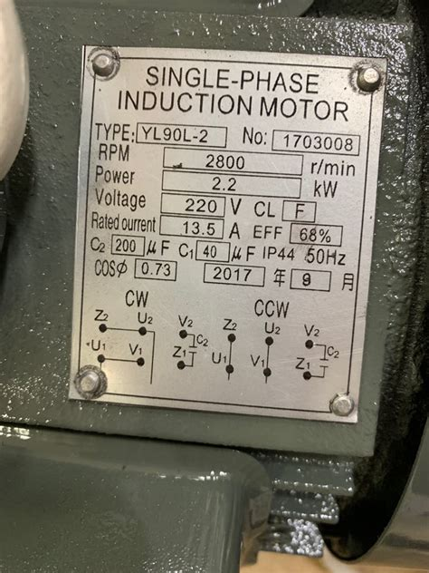 wiring how to wire up single phase induction motor electrical engineering stack exchange