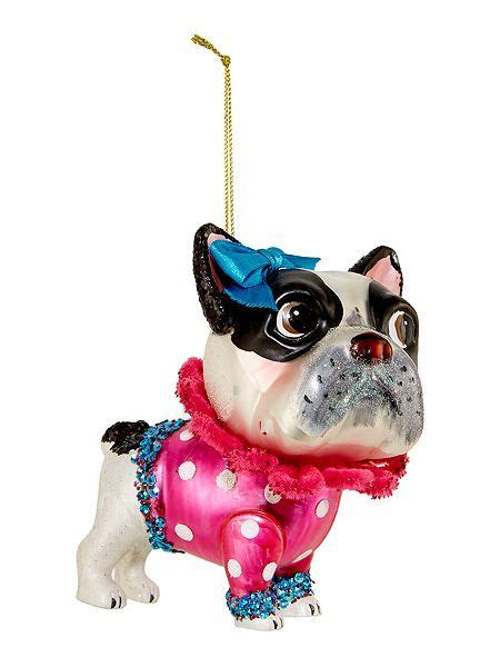 glass french bulldog decoration   beginning