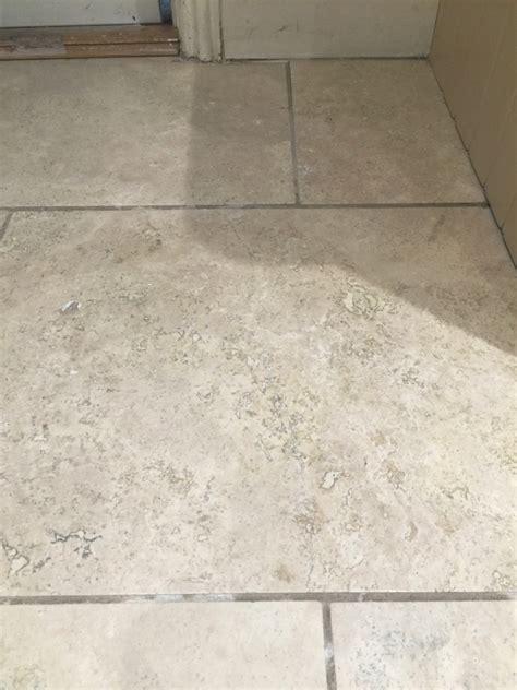 renovating travertine kitchen floor tiles in sanderstead
