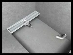 Bac De Douche À L Italienne : douche l 39 italienne guide de montage solution floor line ma onner youtube ~ Farleysfitness.com Idées de Décoration
