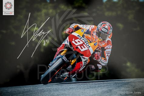 marc marquez   flight signed edition
