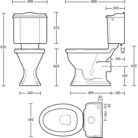 toto toilets imperial drift coupled toilet pan and cistern