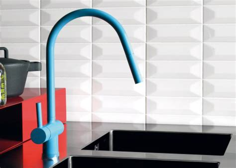 colorful kitchen faucets  zucchetti