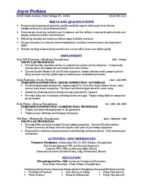 Best College Resume Exles by Templatez234 Free Best Templates And Forms