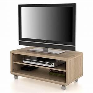 Tv Lowboard Rollen : tv lowboard serra mit rollen in sonoma eiche wohnen tv hi fi m bel ~ Indierocktalk.com Haus und Dekorationen