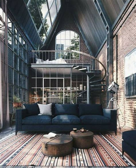 industrial style   sumptuous home design interior