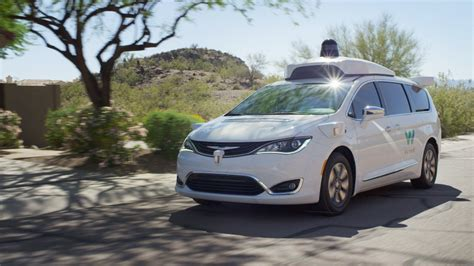 Google's Waymo Gives Free Self-driving Car Rides In Phoenix