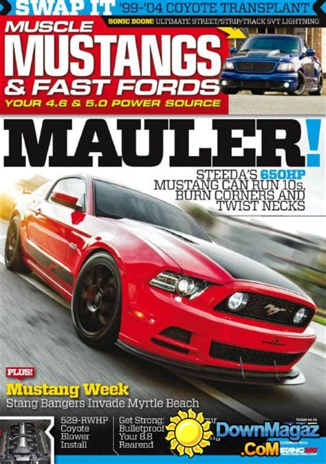 muscle mustangs fast fords december