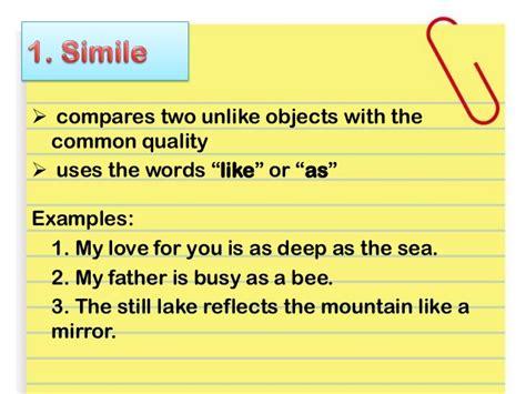 examples  figurative language alisen berde