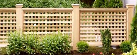 How To Build A Lattice How To Build Your Own Wood Lattice Fence