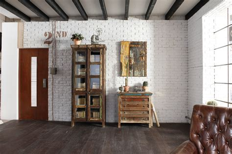 Weiße Farbe Wand by Wandgestaltung In Der Optik Einer Ziegelwand In Der Farbe