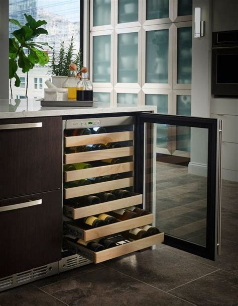 monogram wine reserves beverage centers kitchen inspirations wine