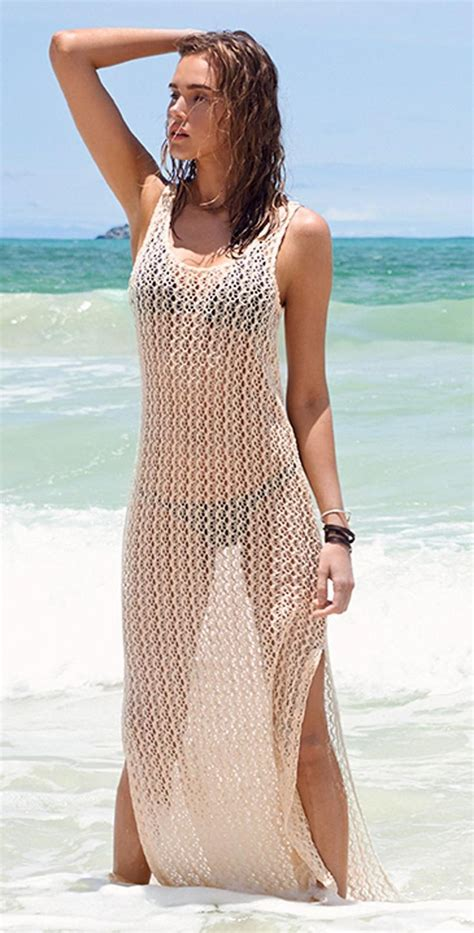 L Space 2015 Ramona Crochet Natural Cover Up Ramcv15 Nat