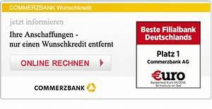 Commerzbank Rechnung Online : commerzbank wunschkredit mit aktuellen zinsen zum angebot mit aktionen ~ Themetempest.com Abrechnung