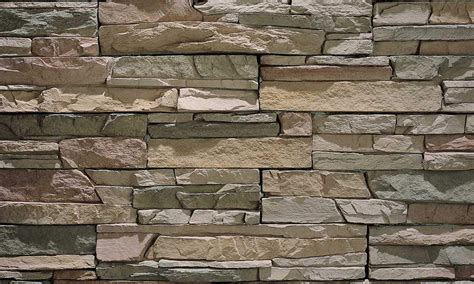 stacked brick stacked stone castaway ecostone products