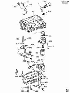 1989 Chevrolet S10 Engine Asm