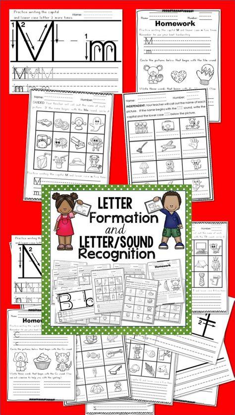 letter formation  lettersound recognition tpt