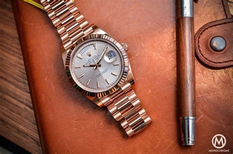 Introducing The Rolex Daydate 40 With The New Calibre